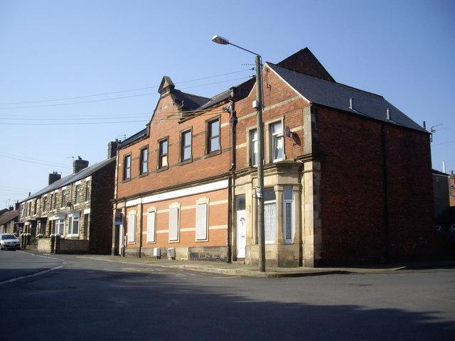 The former Evenwood Co-op building