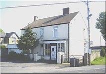 NZ1525 : Semi-detached houses , Evenwood by Stanley Howe