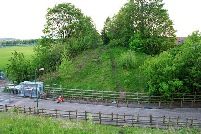 Great Central Railway embankment