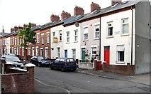 J3472 : The southern end of Jerusalem Street. in Belfast's Holy Land by Eric Jones