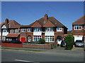 SK6305 : Houses on Scraptoft Lane by JThomas