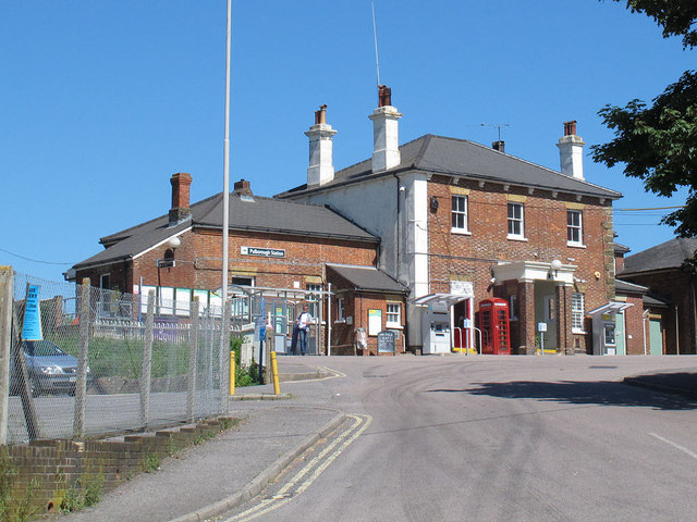 Pulborough station approach
