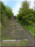 NT3597 : Ascent into Buckhaven by James Allan