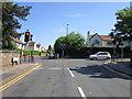 SE2954 : Harlow Moor Road at Otley Road, Harrogate by Ian S