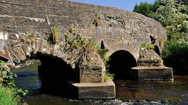 The Ravernet Bridge, Ravernet near Lisburn (2)