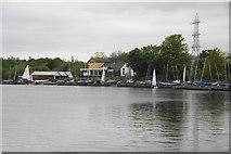 SD7909 : Elton Sailing Club by Bill Boaden