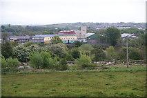 SD7909 : Metrolink tram as seen from Elton Reservoir by Bill Boaden