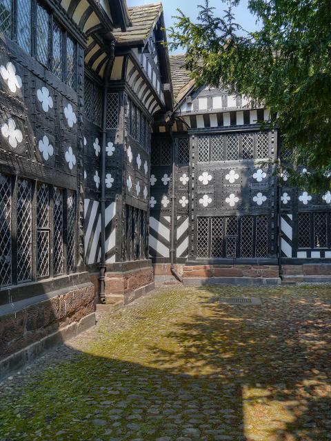Speke Hall Courtyard