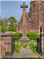 SJ4283 : All Saints' War Memorial, Speke by David Dixon