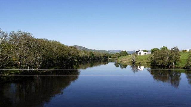River Conon from Moy Bridge