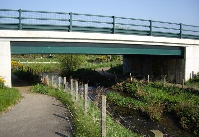 Road bridge over The Gaunless
