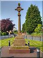 SJ4682 : Hale War Memorial by David Dixon