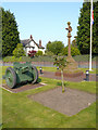 SJ4682 : War Memorials at Hale by David Dixon
