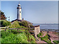 SJ4780 : Hale Head Lighthouse by David Dixon