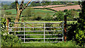 J2660 : Gate, Ravernet near Lisburn by Albert Bridge