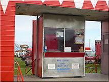 NT6779 : Coastal East Lothian : Circus Box - Office At Winterfield Park, Dunbar by Richard West