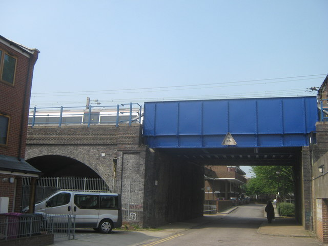 Railway Bridge on Stepney Causeway