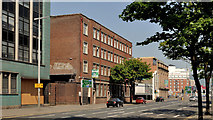 "J3474 : The ""Nambarrie"" site, Belfast (4) by Albert Bridge"