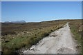 NC5762 : Moorland track west of Talmine by Dorothy Carse