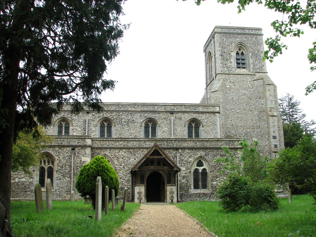 St Mary's church in Stow-cum-Quy