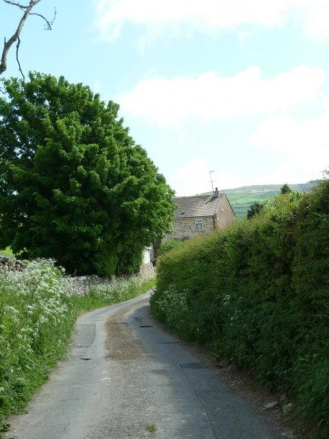 Jubilee Lane north of Tarnside
