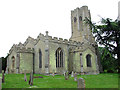 TL5663 : The church of SS Cyriac and Julitta in Swaffham Prior by Evelyn Simak