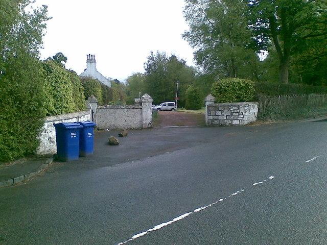 Glenpatrick House entrance
