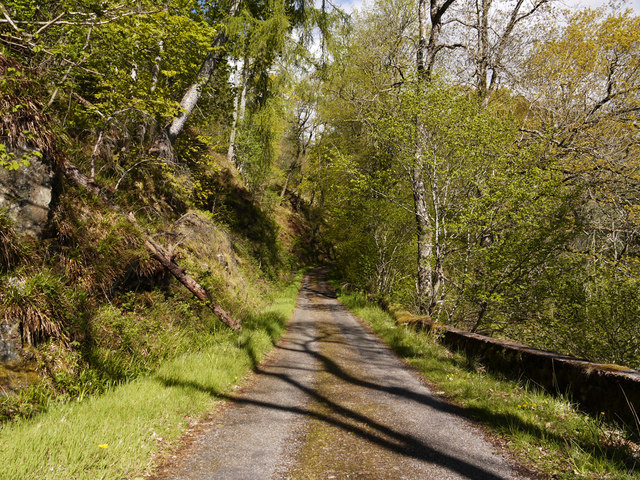 The road for Totaig