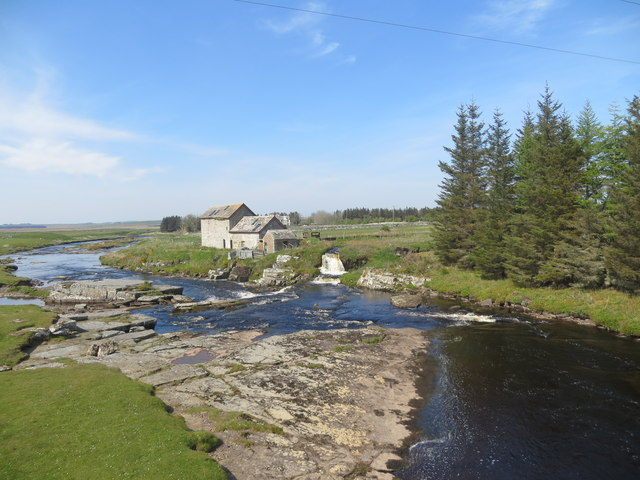 Westerdale Mill on the River Thurso