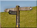SD9613 : Rochdale Way, Bridleway Junction by David Dixon