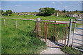 SD4871 : Kissing gate, Cote Stones by Ian Taylor