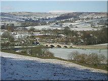 SE0361 : Burnsall Village by John M Wheatley