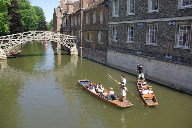 Punting at Cambridge
