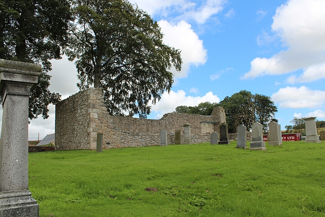 The remains of Kinkell Church
