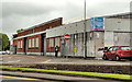 C8432 : Former car showroom, Coleraine by Albert Bridge