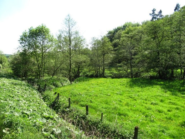 Squeezed between the Churnet and the railway