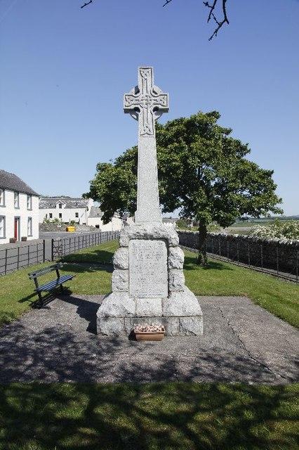 Garlieston War Memorial