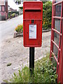 TM5186 : Black Street Postbox by Adrian Cable