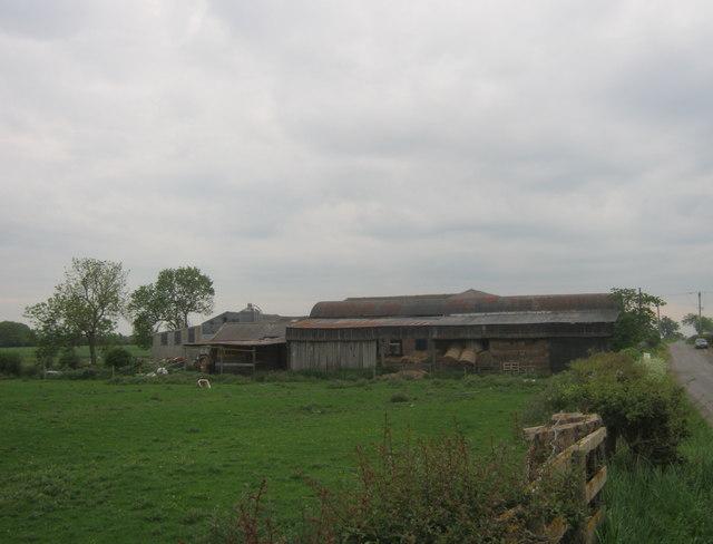 Farm buildings at Neasham Hill Farm