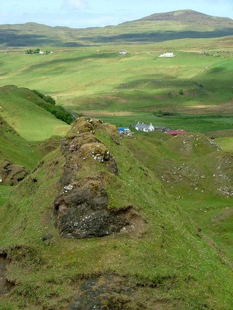 Ridge above Fairy Glen