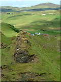 NG4162 : Ridge above Fairy Glen by Dave Fergusson