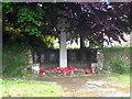 SW7752 : War Memorial at Penhallow by Rod Allday