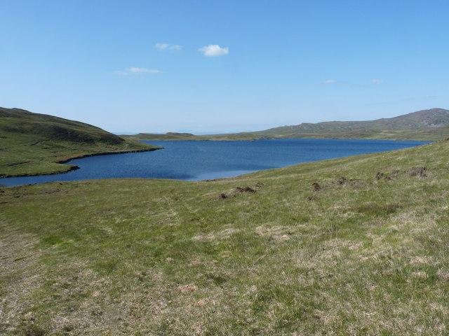 Loch Righ Mor on Jura