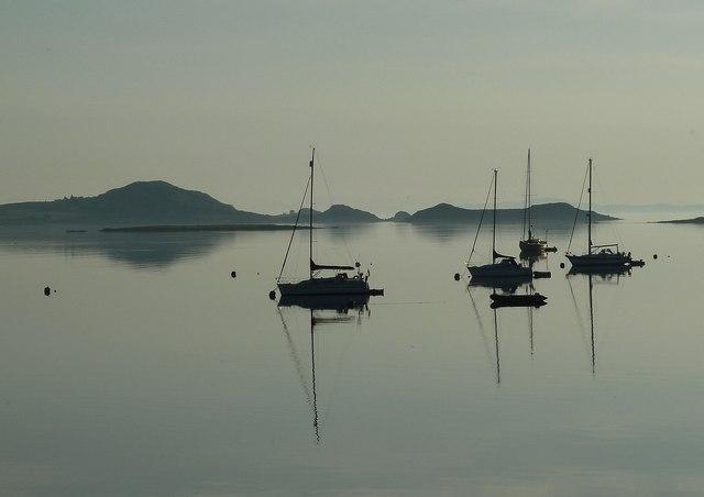Sailing boats, early morning
