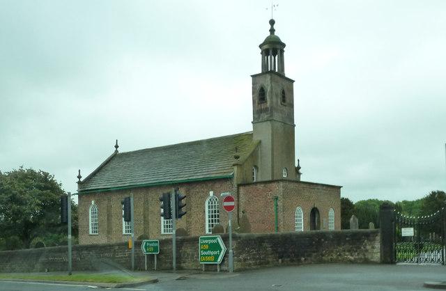 Church by the A59, Tarlton