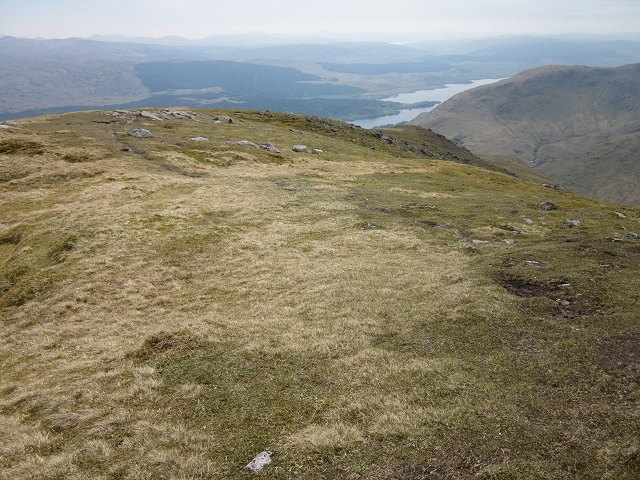 South ridge of Beinn Eunaich