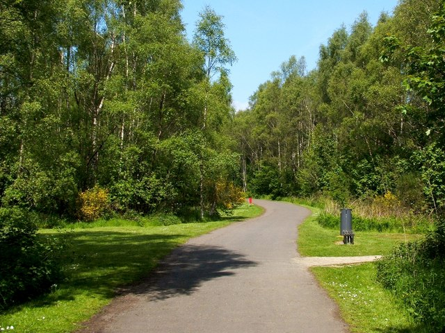 Path to Loch Lomond Shores