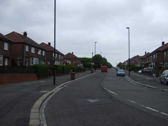 St Peter's Road heading north