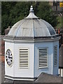 NZ2563 : Cupola and clock on The Guildhall, Quayside, NE1 by Mike Quinn