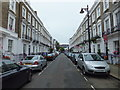 TQ2978 : Flags and Bunting in Moreton Place Pimlico by PAUL FARMER